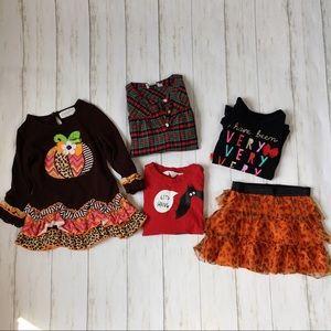 Girls Size 3T Holiday Clothing Bundle